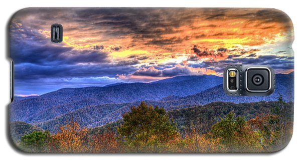Sunset In The Smokies Galaxy S5 Case