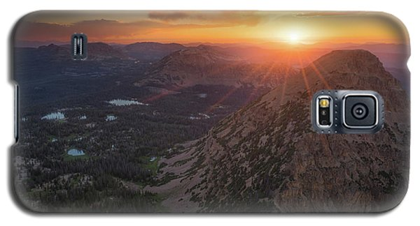 Sunset In The Uinta Mountains Galaxy S5 Case