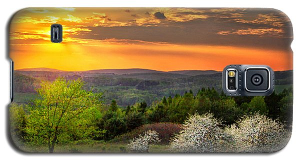 Sunset In Tioga County Pa Galaxy S5 Case