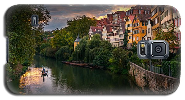 Sunset In Tubingen Galaxy S5 Case