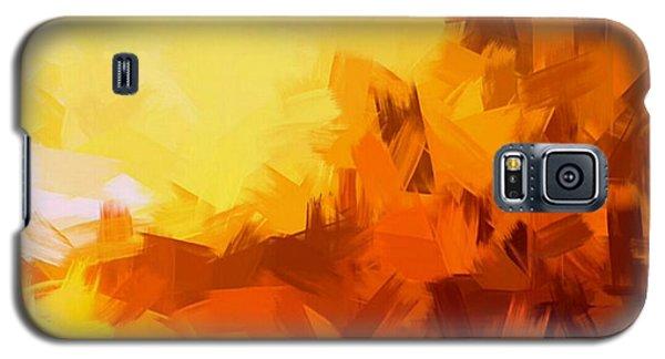 Sunset In Valhalla Galaxy S5 Case