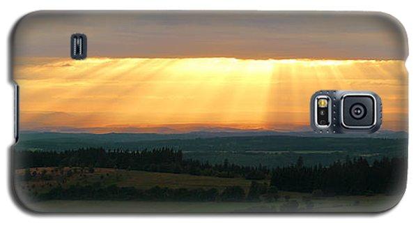 Sunset In Vogelsberg Galaxy S5 Case