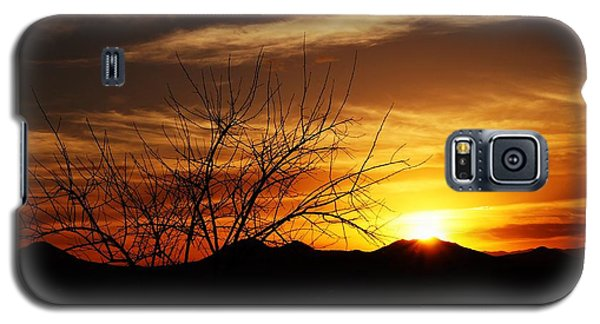 Galaxy S5 Case featuring the photograph Sunset by Joseph Frank Baraba