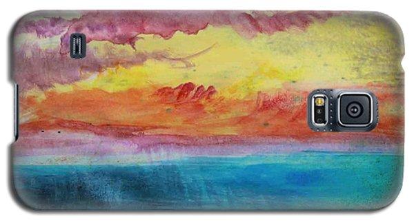 Sunset Lagoon Galaxy S5 Case