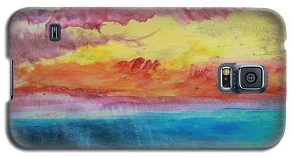 Sunset Lagoon Galaxy S5 Case