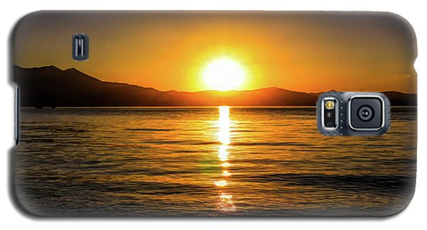 Sunset Lake 1 Galaxy S5 Case