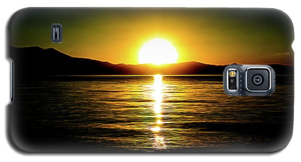 Sunset Lake 2 Galaxy S5 Case