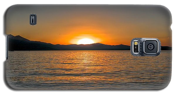 Sunset Lake 3 Galaxy S5 Case