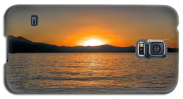 Sunset Lake 3 Galaxy S5 Case