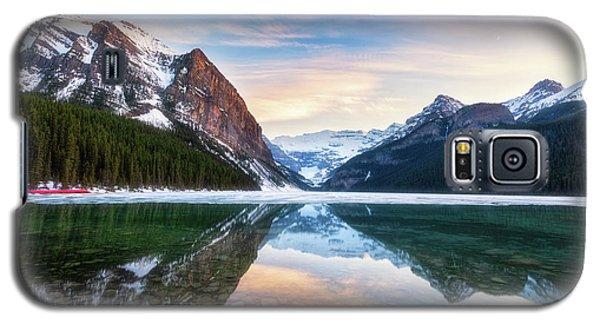 Sunset Lake Louise Galaxy S5 Case