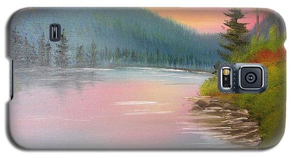Sunset Lake Galaxy S5 Case