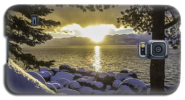 Sunset Light Lake Tahoe Galaxy S5 Case
