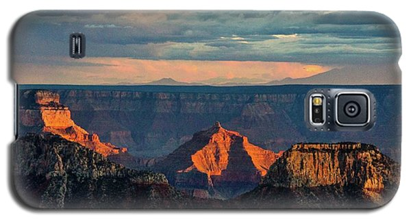 Sunset Lights Angels Gate Galaxy S5 Case