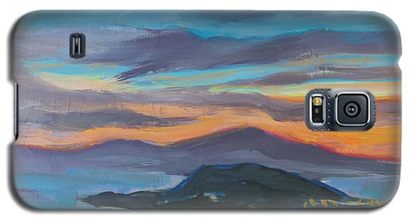 Sunset Looking West Galaxy S5 Case