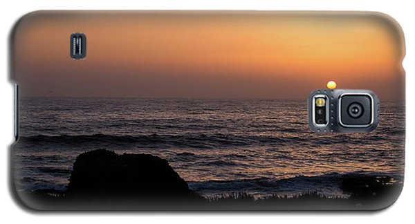 Galaxy S5 Case featuring the photograph Sunset by Lora Lee Chapman
