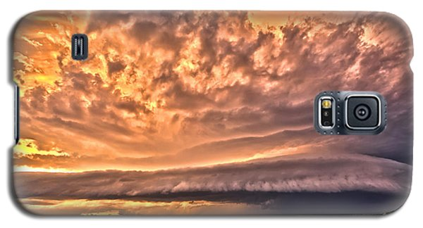 Sunset Mothership Galaxy S5 Case by James Menzies