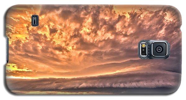 Sunset Mothership Galaxy S5 Case