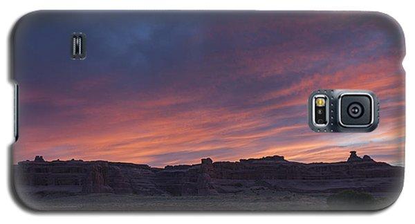 Sunset Near Court House Wash Galaxy S5 Case