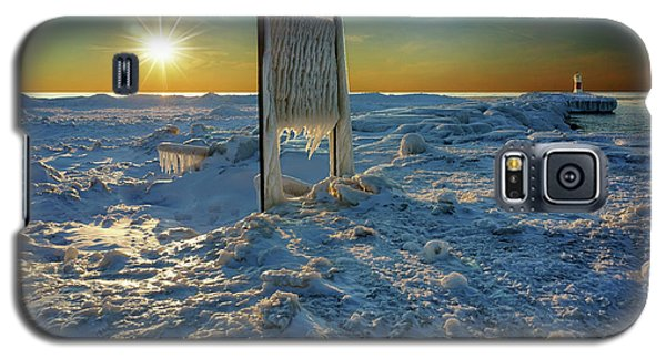 Sunset Of Frozen Dreams Galaxy S5 Case by Kathi Mirto