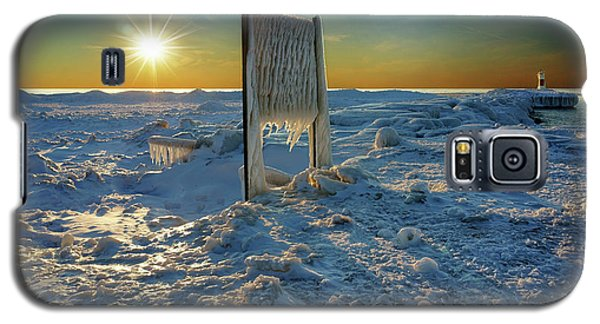 Sunset Of Frozen Dreams Galaxy S5 Case