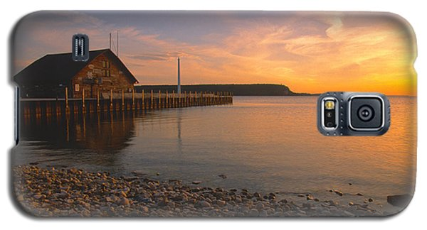 Sunset On Anderson's Dock - Door County Galaxy S5 Case