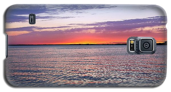 Sunset On Barnegat Bay I - Jersey Shore Galaxy S5 Case