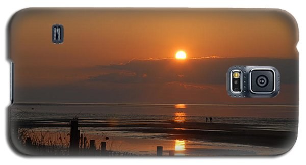 Galaxy S5 Case featuring the photograph Sunset On Cape Cod by Alana Ranney