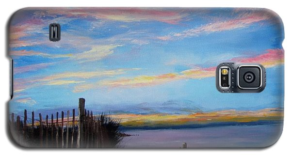 Sunset On Cape Cod Bay Galaxy S5 Case by Jack Skinner