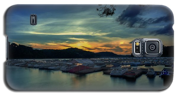Sunset On Cheat Lake Galaxy S5 Case