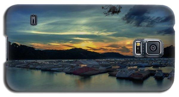 Sunset On Cheat Lake Galaxy S5 Case