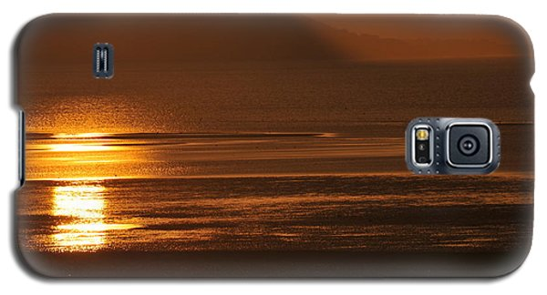 Sunset On Coast Of North Wales Galaxy S5 Case by Harry Robertson