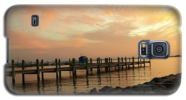 Sunset On Dewey Bay Galaxy S5 Case