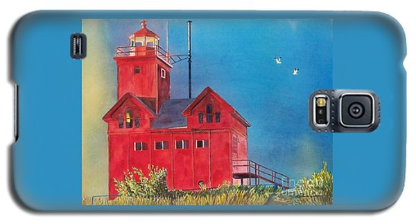 Sunset On Holland Light Galaxy S5 Case