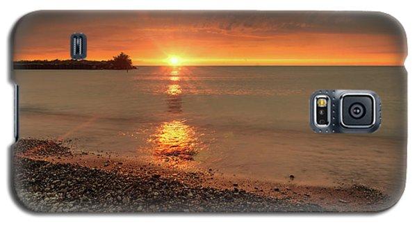 Sunset On Huron Lake Galaxy S5 Case