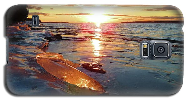 Sunset On Ice Galaxy S5 Case