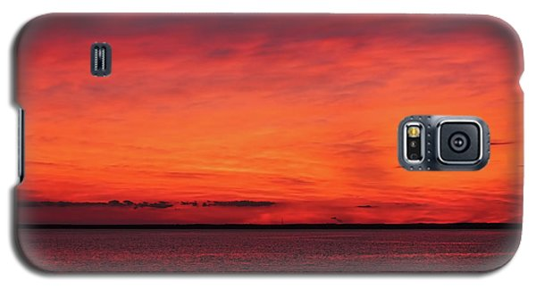 Sunset On Jersey Shore Galaxy S5 Case