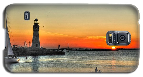 Sunset On Lake Erie Galaxy S5 Case