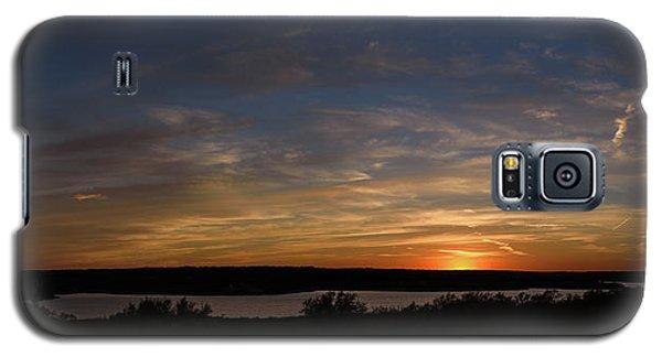 Sunset On Lake Georgetown Galaxy S5 Case