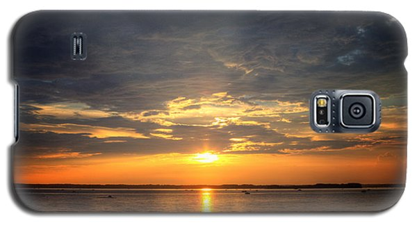 Galaxy S5 Case featuring the photograph Sunset On Lake Hartwell by Lynne Jenkins