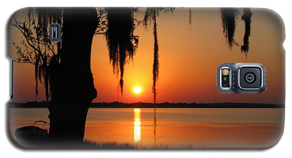Sunset On Lake Minneola Galaxy S5 Case