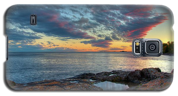 Sunset On Lake Superior Galaxy S5 Case