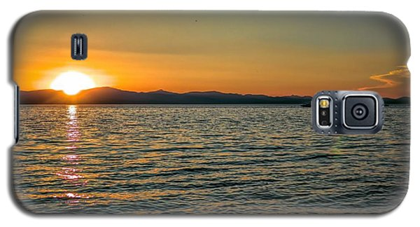 Sunset On Left Galaxy S5 Case