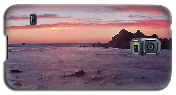 Galaxy S5 Case featuring the photograph Sunset On Monterey Bay by Dana Sohr