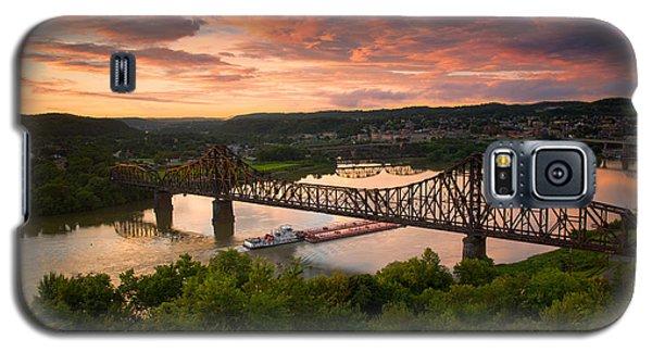 Sunset On Ohio River  Galaxy S5 Case