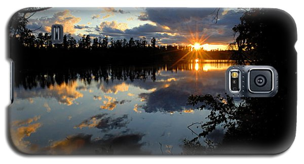 Sunset On Polly Lake Galaxy S5 Case