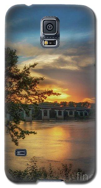 Sunset On The Arkansas Galaxy S5 Case