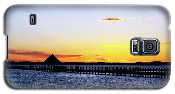 Sunset On The Bay Galaxy S5 Case by Elsa Marie Santoro