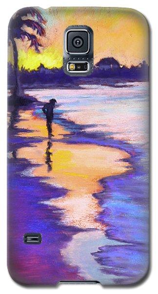 Sunset On The Beach Galaxy S5 Case