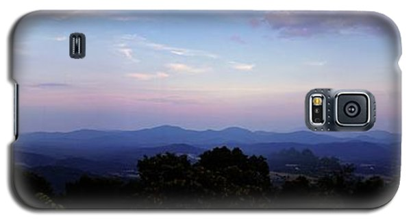 Sunset On The Blue Ridge Galaxy S5 Case