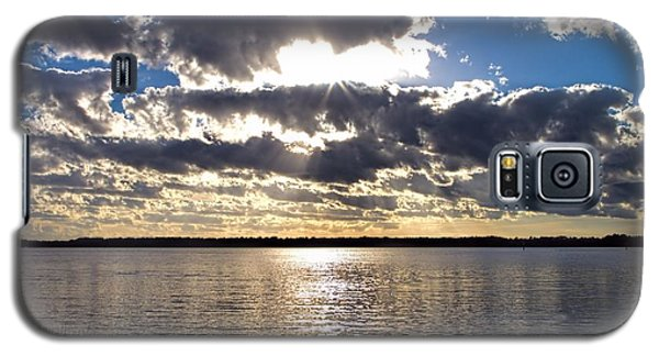 Sunset On The Cape Fear River Galaxy S5 Case
